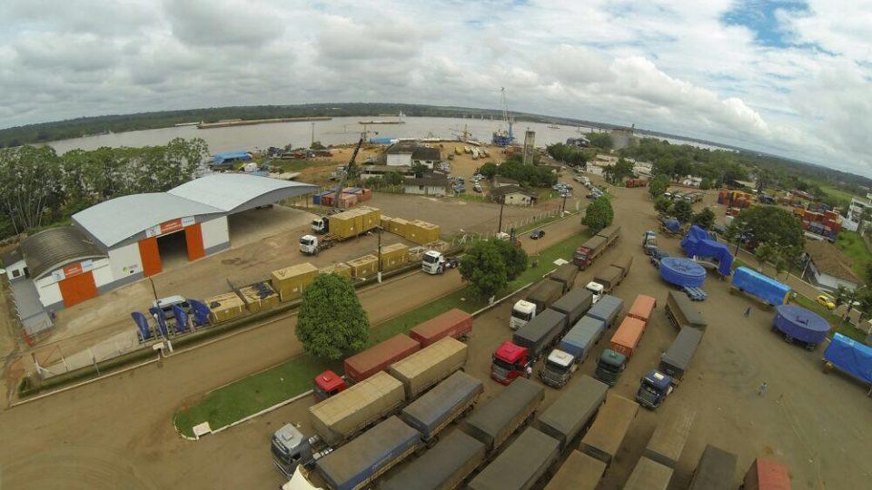 Transporte de Cargas em Balsas de Manaus a Porto Velho