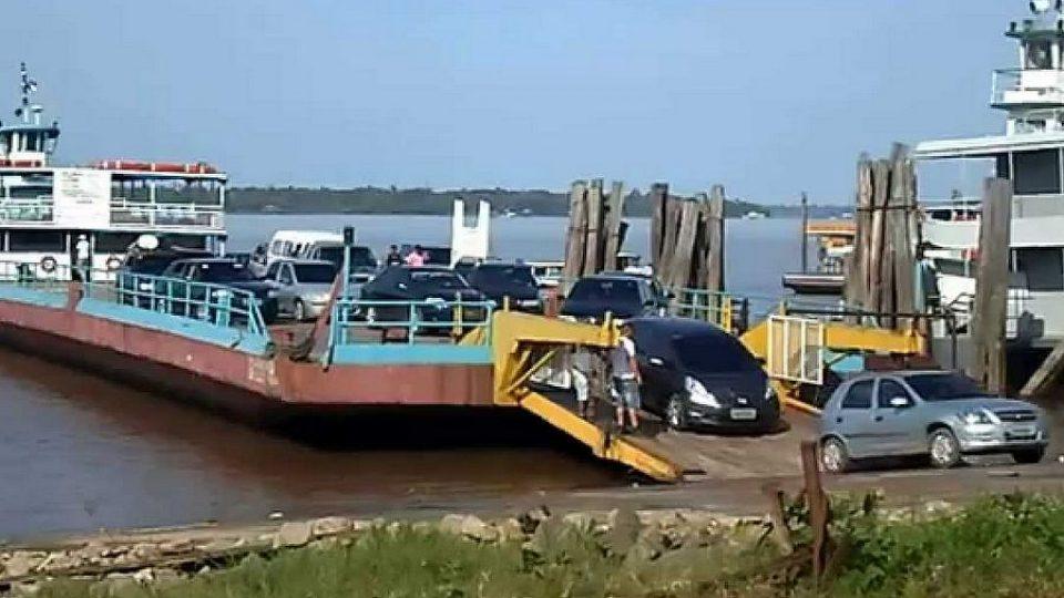 Travessia em Balsa Manaus x Porto Velho